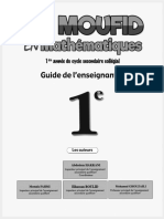 Guide Al Moufid Math 1ac