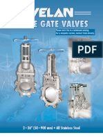 STAINLESS STEEL STANDARD KNIFE GATE VALVES
