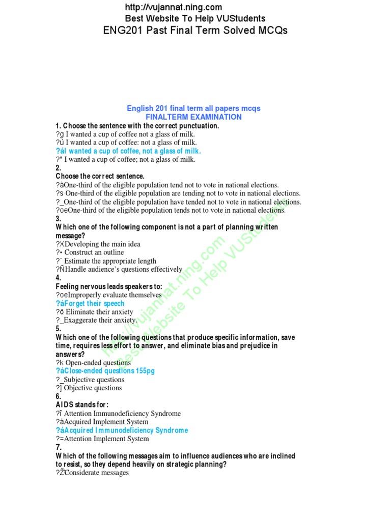 final term paper mgt101