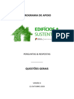 Edificios sustentáveis - Perguntas