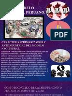 El modelo neoliberal peruano (HAYDEE LIVIA SEGURA)