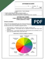 Atividade - Cores Análogas-Complementares-Quentes-Frias