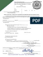 Brandenburg Search Warrant