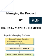 Managing Product