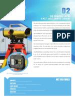 STONEXD2 high accuracy digital level