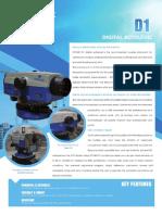 STONEX D11.5 mm/km Accuracy Digital Level (B70-750101)
