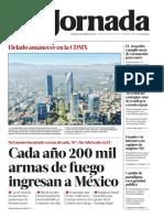 2021 01 02 Cada Ao 200 Mil Armas de Fuego Ingresan a Mxico