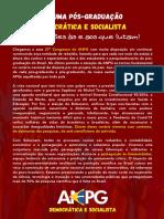 CNPG 2020 - Tese - ANPG Democrática e Socialista