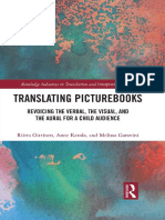 [Routledge Advances in Translation and Interpreting Studies] Riitta Oittinen, Anne Ketola, Melissa Garavini - Translating Picturebooks_ Revoicing the Verbal, the Visual and the Aural for a Child Audience (2017, R
