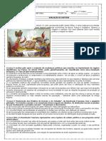 AVALIAÇÃO - 2 ANO 3 TRIMESTRE - MODELO 2
