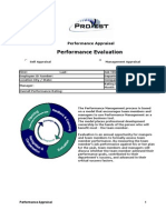 Performance Appraisal 2011