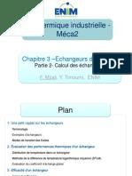 Chapitre 3 EAD (partie 2) Calcul échangeurs