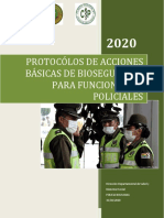 PROTOCOLO PARA PERSONAL POLICIAL