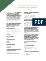 identificación de riesgos con productos quimicos