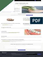 Pont - Prothèse dentaire fixe _ Bücco