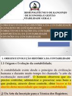 AULA NAº 1 DE CONTABILIDADE FINANCEIRA I