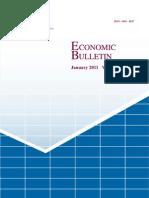 Economic Bulletin January 2011