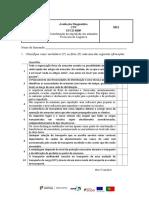 Avaliação Diagnóstica UFCD 8509