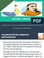 historia del py - Unidad III