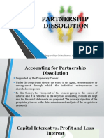 Partnership Dissolution