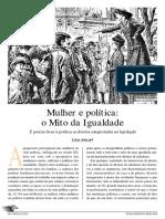 Mulher e Política o Mito Da Igualdade