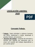 Legislacion laboral 2020 PPT 2