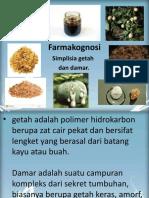 Bab 8. Simplisia Getah Dan Damar