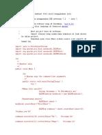 Berikut cara untuk membuat file excel menggunakan