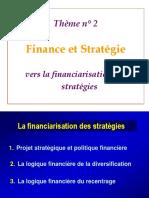Aide Mémoire 3 Financiarisation Des Stratégies