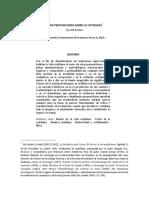 JAVEAU (2019) 8 Proposiciones. Traducción y Comentarios