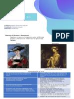 Ejercicio #2 Rubens y Rembrandt.