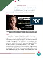 proposta - 5 - violéncia contra a mulher em tempos de pandemia