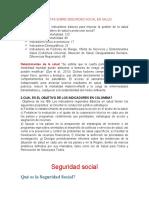 PREGUNTAS SOBRE SEGURIDAD SOCIAL EN SALUD