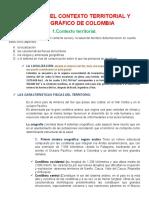 2.¿Cuál es el contexto territorial y demográfico de Colombia