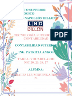 VOCABULARIO NIC 20,23,24,27