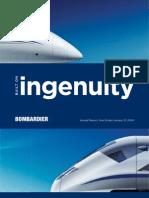 Bombardier Annual Report 2008