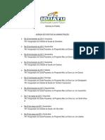 agenda de eventos da administração