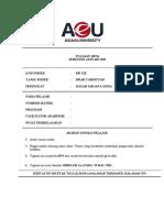 Assignment SSI122 Sirah Januari 2021