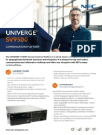 Datasheet-UNIVERGE-SV9500-Communications-Platform