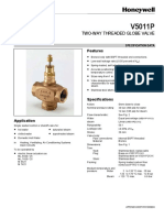 Honeywell_V5011P_Two-Way_Threaded_Globe_Valve_Product_Sheet