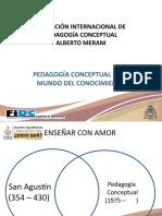 PEDAGOGÍA CONCEPTUAL SAN AGUSTIN Plantilla