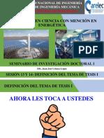 Sesión 13 y 14 - Seminario de Investigación Doctoral i