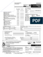 ROF-025 Request for Documents Fillable Form