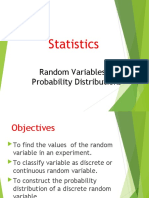 random variables - Lecture