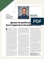 Tribune Mohamed Chikouche - février 2021