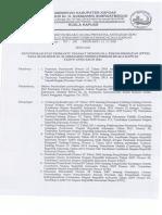 Penunjukan Pembantu PPTK Pada RSUD Dr. H. Soemarno Sosroatmodjo Kuala Kapuas