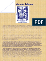 The Masonic Dilemma
