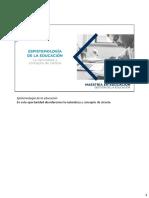 S05 Epistemología de La Educación