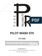 user manual_Pilot wash 575