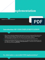 Crm Implementation by Ritul and Naman